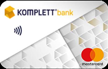 Komplett Bank Mastercard luottokortti