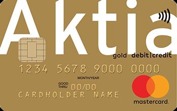 Aktia Gold Credit MasterCard