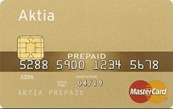 Aktia Prepaid MasterCard
