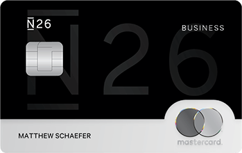 N26 Business Black Mastercard