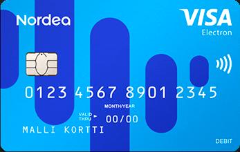 Nordea Visa Electron
