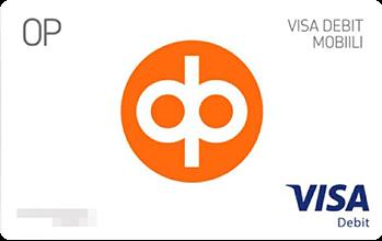 OP Visa Debit Mobiili