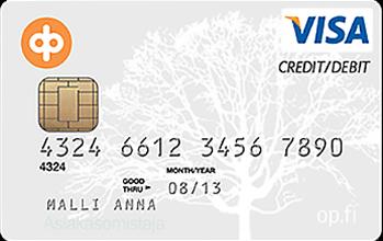 OP Visa Debit